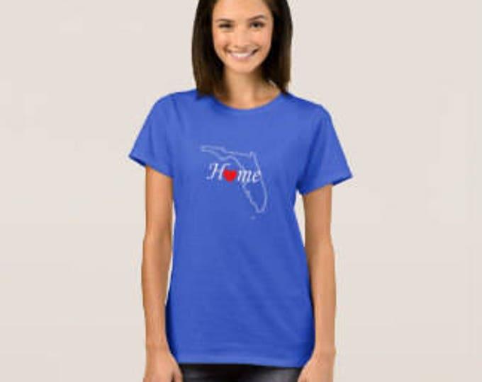 "Women's T-shirt ""Florida Home"""