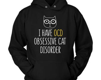 Cat hoodie. Cute and funny gift idea