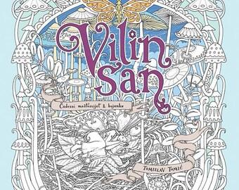 Vilin San by TOMISLAV TOMIC - Vilin San coloring book (Fairy's Dream) by Tomislav Tomić