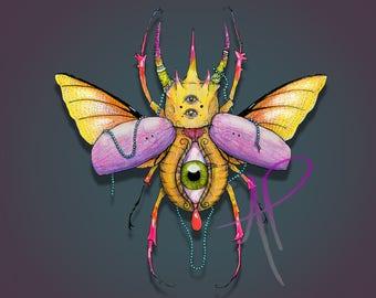 Seeing Eye Beetle