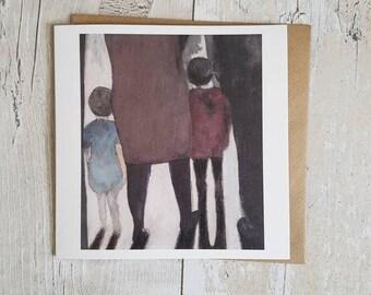 Children - Blank art card