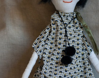 Rag doll. Ginette Deauville - A Rag Dolls Collection.
