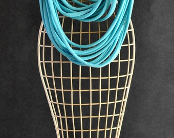 Infinity scarf, Infinity necklace, Loop scarf, Fabric scarf, T-shirt scarf