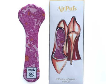 Wednesday Pink Airpufs High Heel Insoles