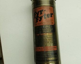 Brass Fyr Fyter Extinguisher