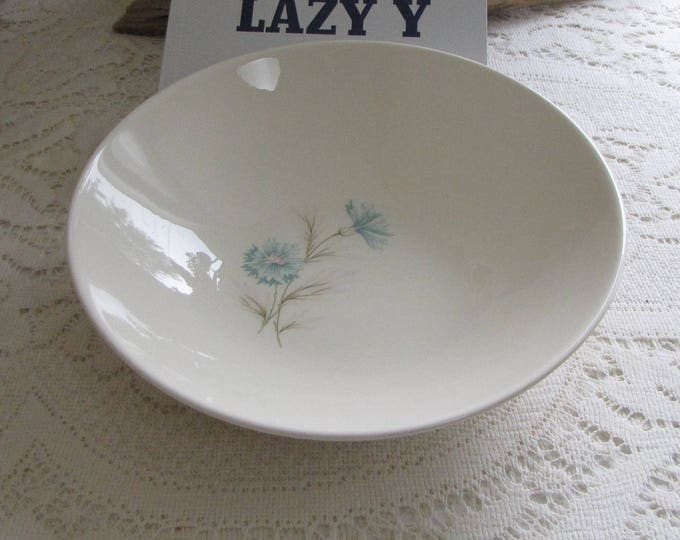Blue Boutonniere Vegetable Bowl Taylor, Smith & Taylor Ever Yours Series Vintage Dinnerware and Replacements