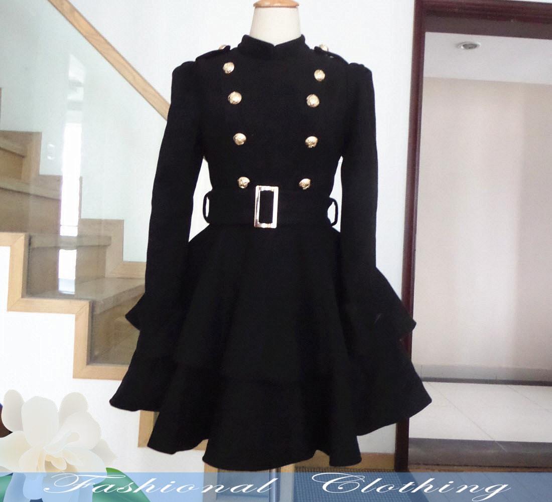 Black jacket dresses for women