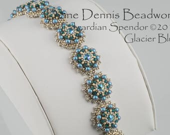 Kit for the Edwardian Splendor Bracelet in Glacier Blue