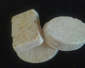Oatmeal Shea butter Soap, Eczema Soap, Psoriasis Soap, Glycerin Soap, Handmade Soap, Shea butter soap, 3 BAR SET
