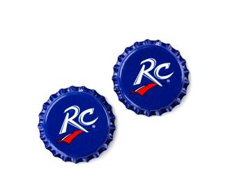 RC (R) Bottle Cap Cufflinks