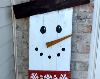 Double Sided Snowman jack-o-latern front Porch Decor, Fall Sign, Winter Sign, Two Signs in One, Cute Holiday Decor