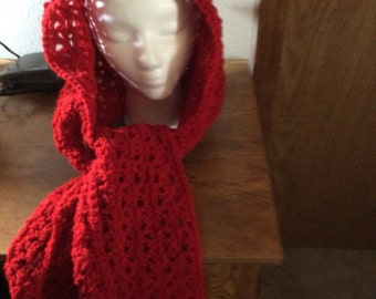 Little Red Riding Hooded Scarf
