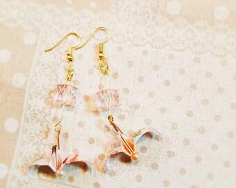 Origami Crane Earrings 1