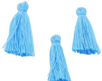 Tassels cotton 30x5mm, set of 3 Pcs