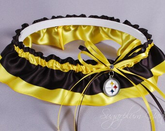 Pittsburgh Steelers Wedding Garter
