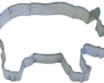 Rhino Cookie Cutter,  Africa Zoo cookie cutter, rhinoceros cookie cutter