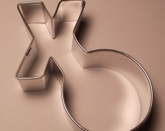 "4 "" Hugs and Kisses  XO Cookie Cutter"