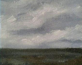 Chaos - Oil Painting - Mini