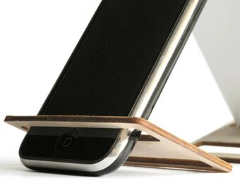 Laser cut wood phone holder,office desk accessories,cell phone stand, cell phone holder,gifts under 10,smartphone stand,smartphone holder