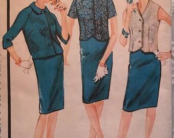 Vintage sewing Pattern Advance 3321 Size 11 JP Bust 33
