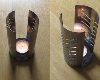 Swedish Vintage Candle Holder; Metal Candle Holder; Tealight Candle Holder; Single Candle Holder; Scandinavian Home Decor