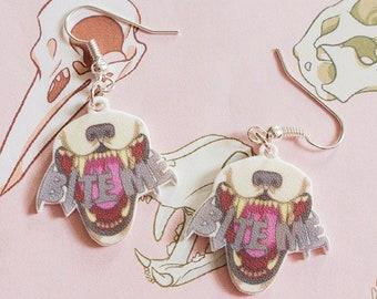 Bite Me - Dangle Earrings!