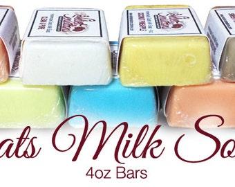 Creamy Goats Milk Soap Bars
