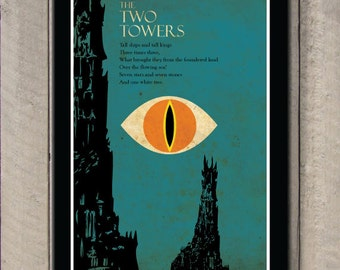 The Lord of the Rings - The Two Towers poster