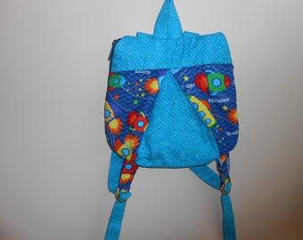 Small rocket ladybug backpack