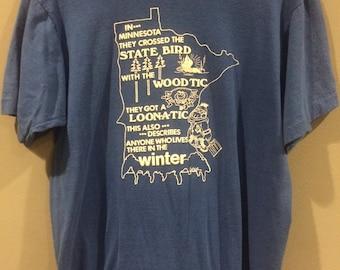 1989 minnesota state funny shirt