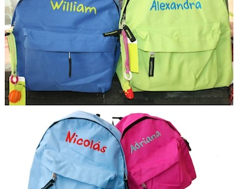 BAG personalized with embroidery for child