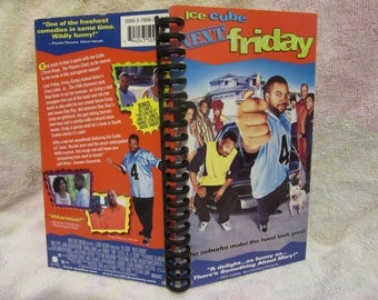 Next Friday VHS box notebook