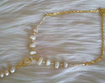 Brigid's Pearl Necklace