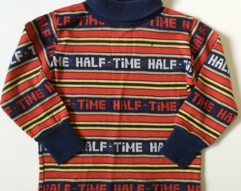 Vintage Healthtex Football Striped Shirt 2T
