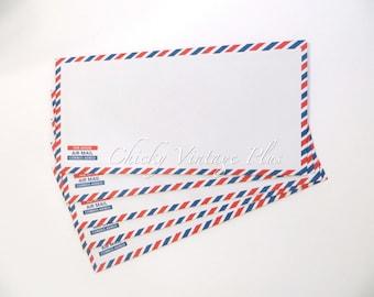 Airmail Envelopes - Junk Journal Supplies, Friend Mail, Happy Mail