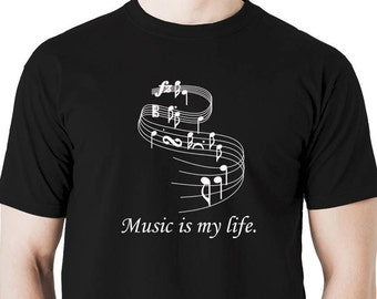 music is my life t shirt.