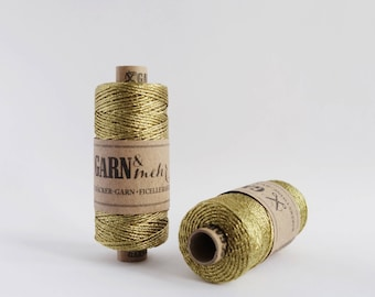 1 spool baker's twine in gold 45m