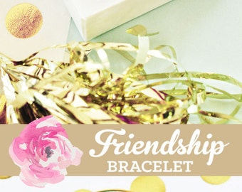 Best Friend Gift Best Friend Bracelet Best Friend Jewelry Best Friend Birthday Gift Friendship Bracelet (EB3144WC) Monogram Bracelet