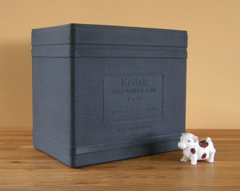 Vintage Kodak Hard Rubber Film Developing Tank 8 x 10
