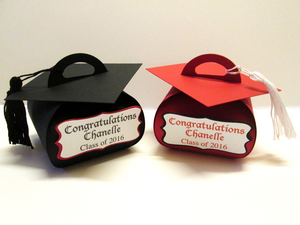 Personalized Graduation Favor Boxes Gift
