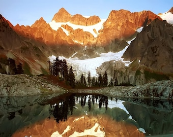 Mountains 11 x 14 / 11x14 GLOSSY Photo Picture