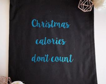 slogan tote bag, shopping bag, cotton bag, gym bag, christmas bag, personalised