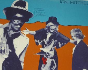 Joni Mitchell record album, Don Juan's Reckless Daughter vintage vinyl record