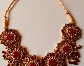 Bollywood Bridal Choker Raani Haar jhumka and jhoomar sets