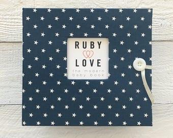 BABY BOOK | Mini Navy Star Album