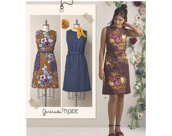 Simplicity Sewing Pattern 8570 Gertrude Made Dresses
