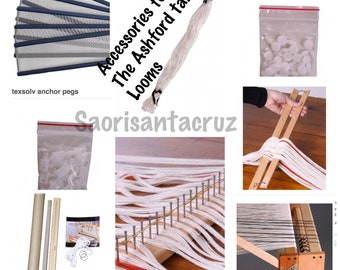 Accessories for Ashford table looms.reeds,lease sticks,second beam etc etc :saorisantacruz