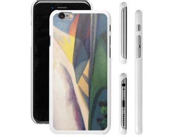 "Art Phone Cases - iPhone cases ""Camping"" early morning camping with mountain air"