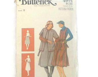 Butterick 4973 Pattern Misses Jacket and Jumper Size 8 UNCUT