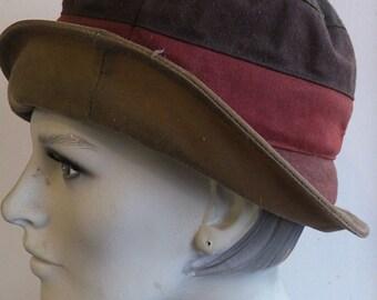 Waxed Cotton Oilskin Hat